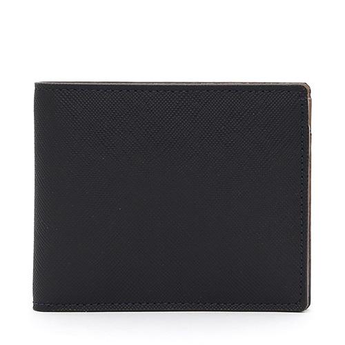 GNUOYP(ニュピ) 二つ折り財布 ブラック