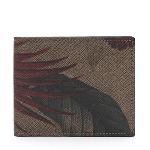 GNUOYP(ニュピ) 二つ折り財布 ボタニカル