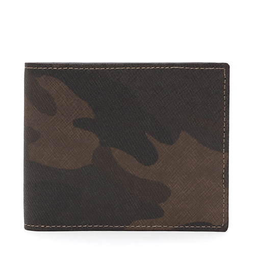 GNUOYP(ニュピ) 二つ折り財布 サフィアーノミリタリー