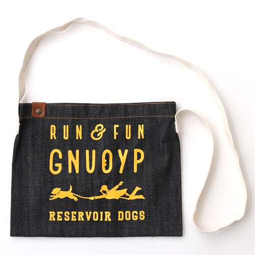 GNUOYP(ニュピ) ショルダーバッグ S デニム