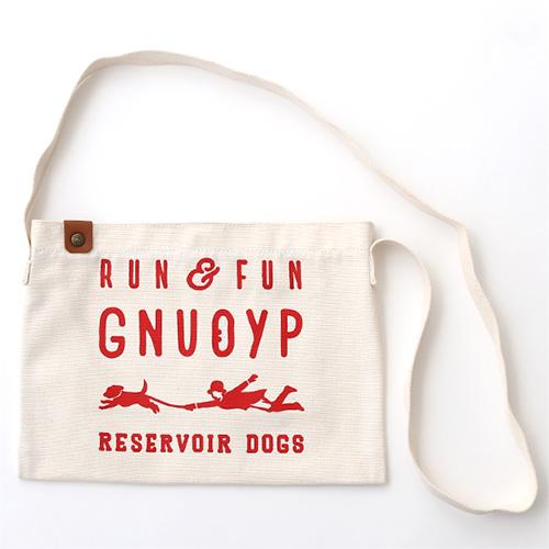 GNUOYP(ニュピ) ショルダーバッグ S ホワイト