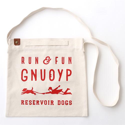 GNUOYP(ニュピ) ショルダーバッグ L ホワイト