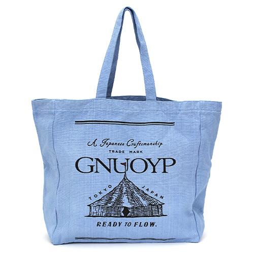 GNUOYP(ニュピ) キャンバストート ブルー