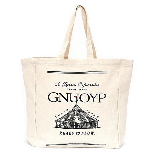 GNUOYP(ニュピ) キャンバストート ホワイト
