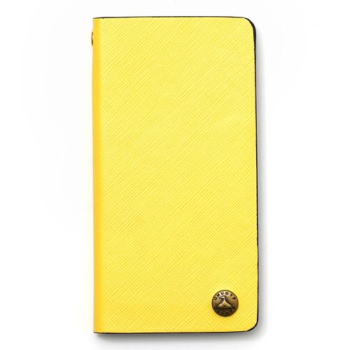 GNUOYP(ニュピ) iPhone7 case (6対応) スマホケース イエロー