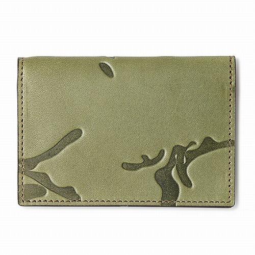 GNUOYP(ニュピ) 【WAVY】 Card Sleeve モスグリーン