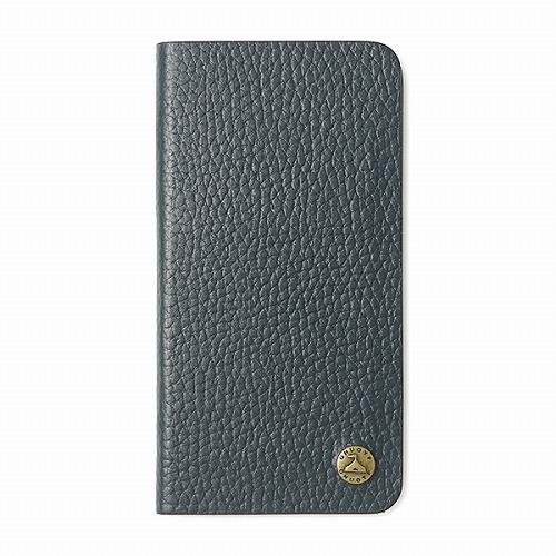 GNUOYP(ニュピ) iPhone X case (book) ネイビー