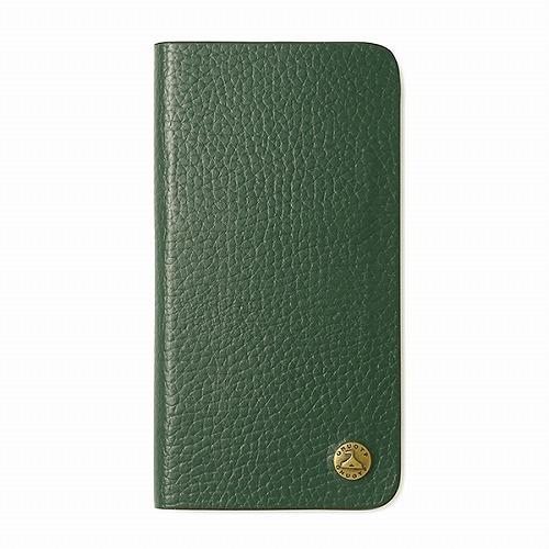 GNUOYP(ニュピ) iPhone X case (book) グリーン