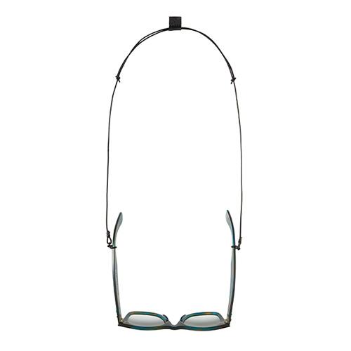 GNUOYP(ニュピ) GLASS CORD ブラック/ブルー